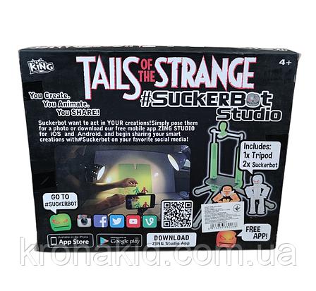 Набор фигурок Стик Бот для анимационного творчества StikBot со штативом для съёмки 2 человечка, фото 2