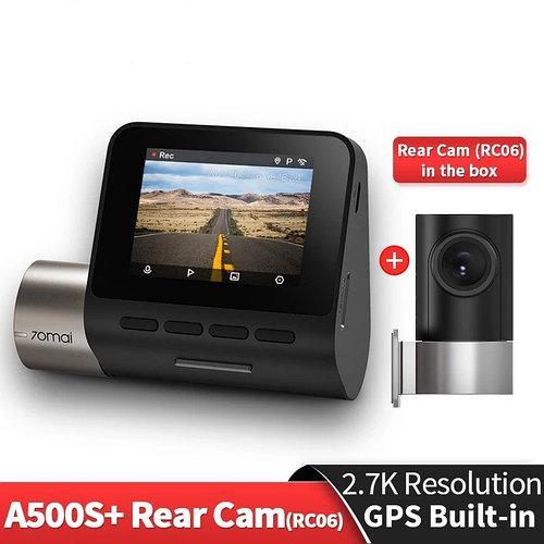 Відеореєстратор Xiaomi 70mai A500S Dash Cam Pro Plus GPS ADAS з камерою заднього виду і кабелем KIT