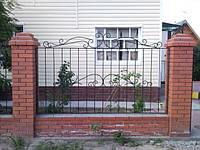 Паркан з кованих елементів