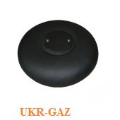 Пропановый тороидальный баллон 42 л (таблетка), Украина (ХарПромТех) 600х200.