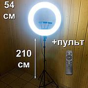 Кольцевая лампа 54 см RL-21 со штативом на 2м для лампа для селфи лампа для тик тока