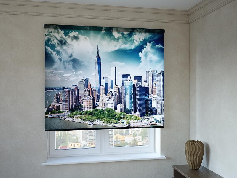 Рулонні штори з фотодруком Нью Йорк