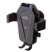 Тримач мобільного телефону PULSO WC-2502K з бездротовою зарядкою QC2.0 (WC-2502K)