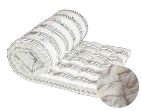 Ватный матрас DOTINEM Тик наполнитель хлопковая вата одинарный 70х190 (212487), фото 2