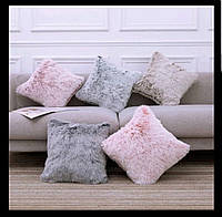 Подушки декоративные мех с двух сторон 40х40