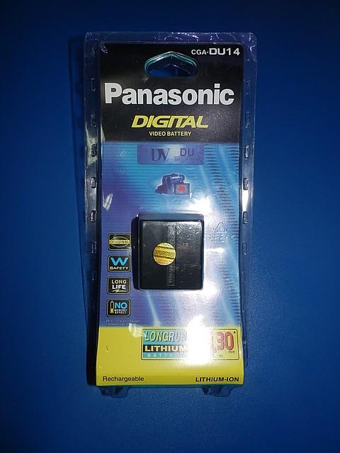 Panasoniс CGR-DU14