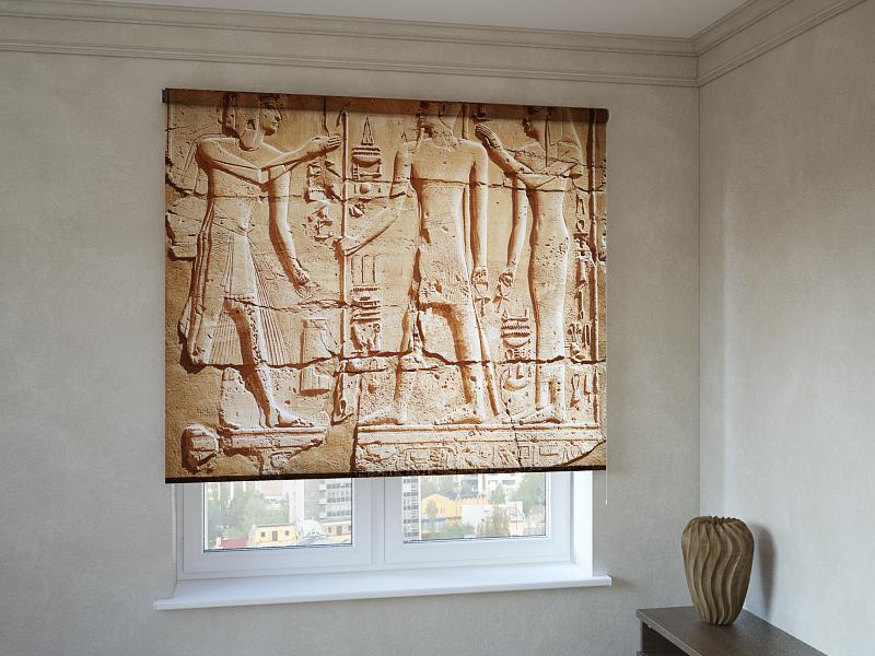 Рулонные шторы с фотопечатью Египет