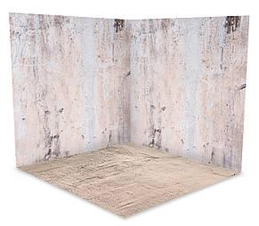 Вініловий 3D фотофон дві стіни та підлогу № W022, фото 2