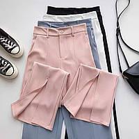 Жіночі стильні штани з розрізами, фото 1