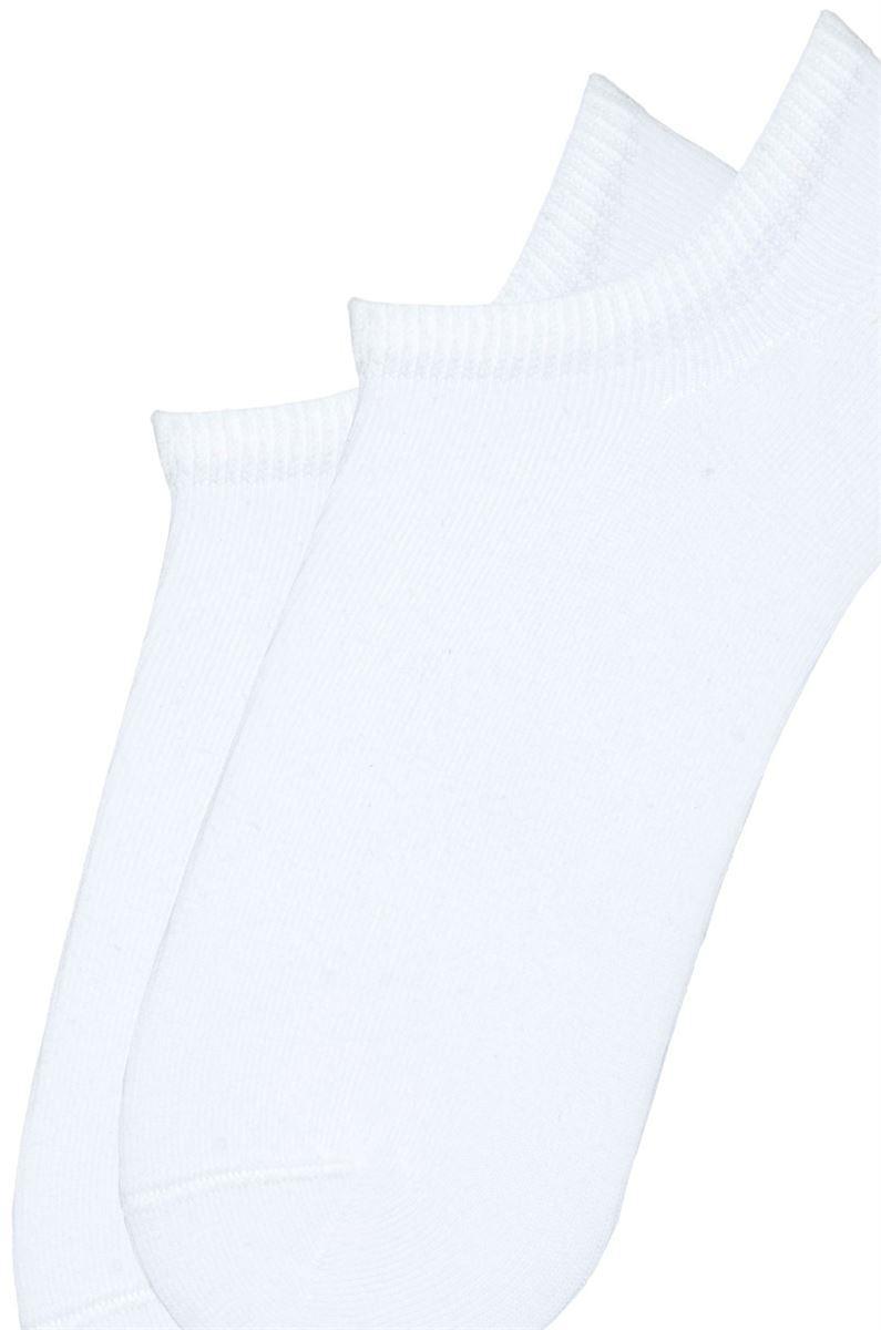 Шкарпетки жіночі короткі бавовняні Bross білі