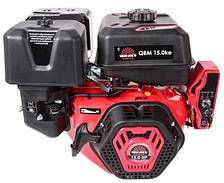 Бензиновый двигатель Vitals Master QBM 15.0ke (шпонка, эл.стартер, 15 л.с, 25,4 мм )
