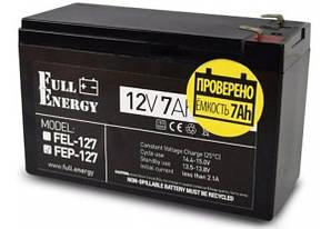 Акумулятор 12В 7А Full Energy Fep-127
