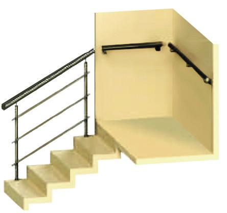 Поручни для лестниц и стен - цены и заказ