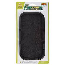 Антиковзаючий килимок на торпедо з бортиком великий (чорний) 200х100х15 мм 44731 (10070)