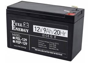 Акумулятор 12В 9А Full Energy Fep-129