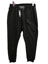 Мужские спортивные штаны David Gerenzo на манжетах трикотажные с косым карманом