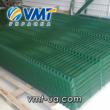 Секционный забор 3D,1700х2500мм, ячейка 50х200мм, пруток 3х4мм