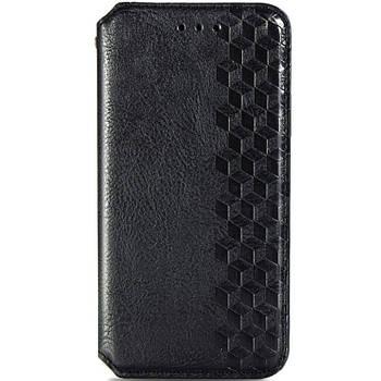 Кожаный чехол книжка GETMAN Cubic (PU) для ZTE Blade A7 Fingerprint Черный