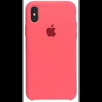 Чехол для iPhone XR Silicone Case бампер (Peach)