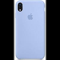 Чехол для iPhone XR Silicone Case бампер (Lilac)