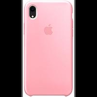 Чехол для iPhone XR Silicone Case бампер (Pink)