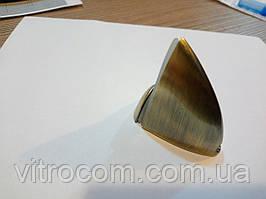 Пелікан середній для скляній полиці бронза