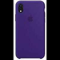Чехол для iPhone XR Silicone Case бампер (Purple)