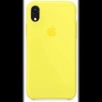 Чехол для iPhone XR Silicone Case бампер (Flash)