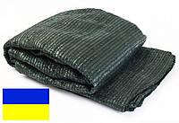 Сетка затеняющая 60% 4м х 10м, зелёная, Украина