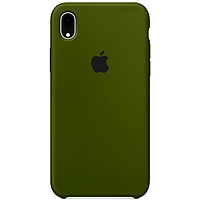Чехол для iPhone XR Silicone Case бампер (Virid)