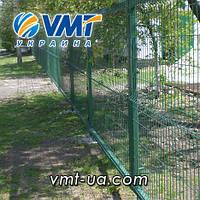 Секционный забор 3D, 2200х2500мм, ячейка 50х200мм, пруток 3х4мм