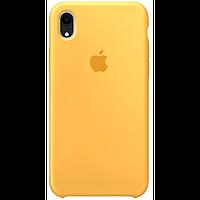 Чехол для iPhone XR Silicone Case бампер (Yellow)