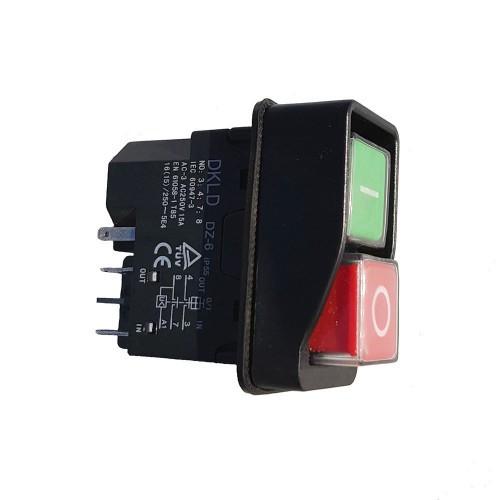 Кнопка бетономішалки Werk (5 контактів) (k02176)