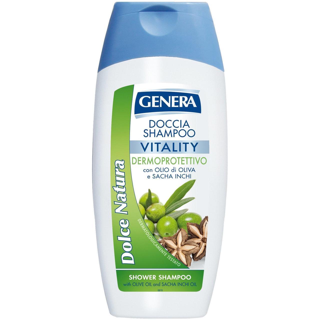 GENERA DOLCE NATURA Vitality Шампунь для волос Масло и Инка-инчи 300мл