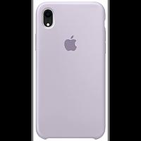 Чехол для iPhone XR Silicone Case бампер (Lavender)
