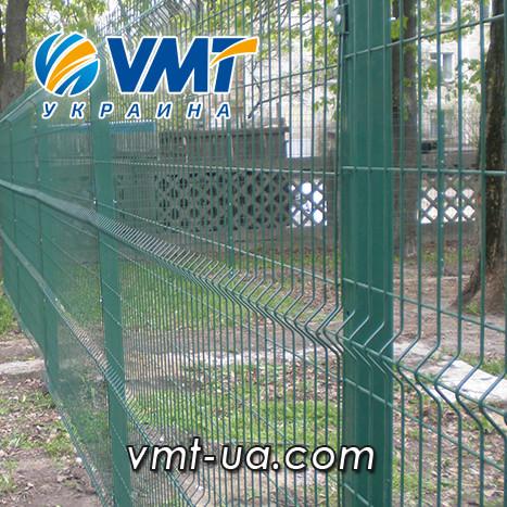 Секционный забор 3D, 2400х2500мм, ячейка 50х200мм, пруток 3х4мм