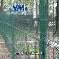 Секционный забор 3D, 2400х2500мм, ячейка 50х200мм, пруток 3х4мм, фото 1