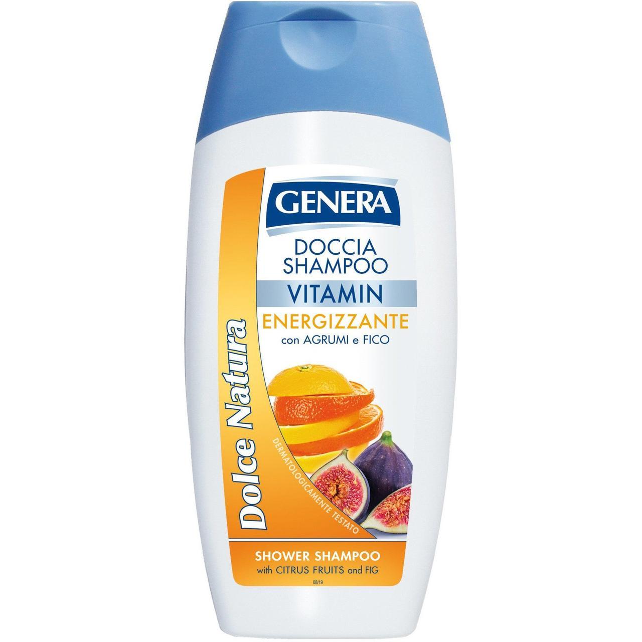 GENERA DOLCE NATURA Vitamin Шампунь для волос Цитрус и Инжир 300мл