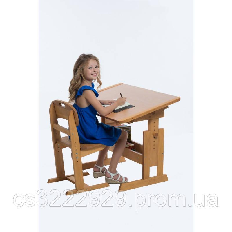 """Растущая парта - стол """"Розумник"""" MrWoodyson"""