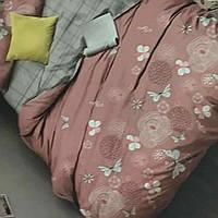 Двухспальный комплект белья 180/200 Наволочки 70/70.Турция(100%хлопок)постільна білизна