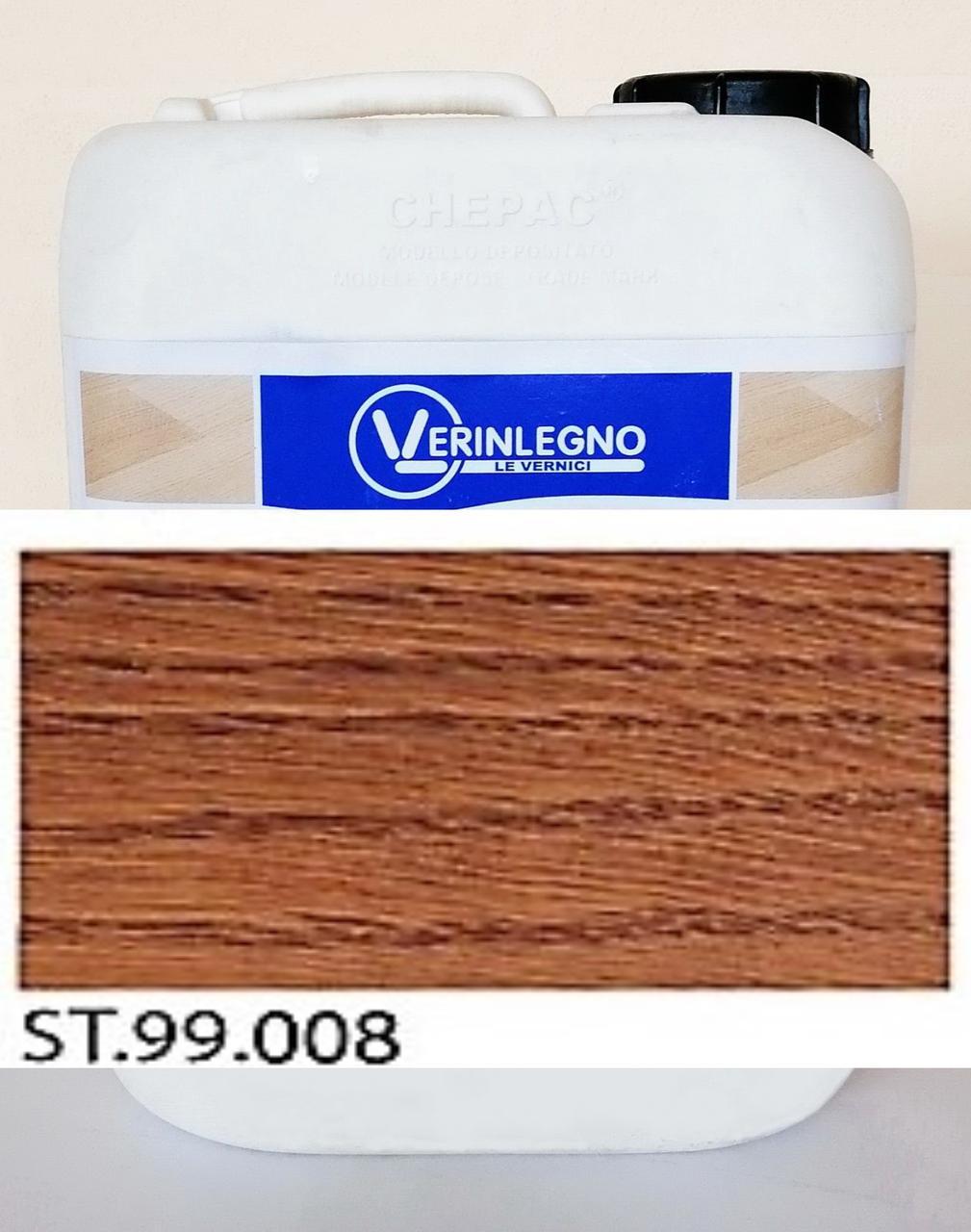 Барвник (морилка, просочення, бейц) для дерева VERINLEGNO ST.99.008, тара: 1л.