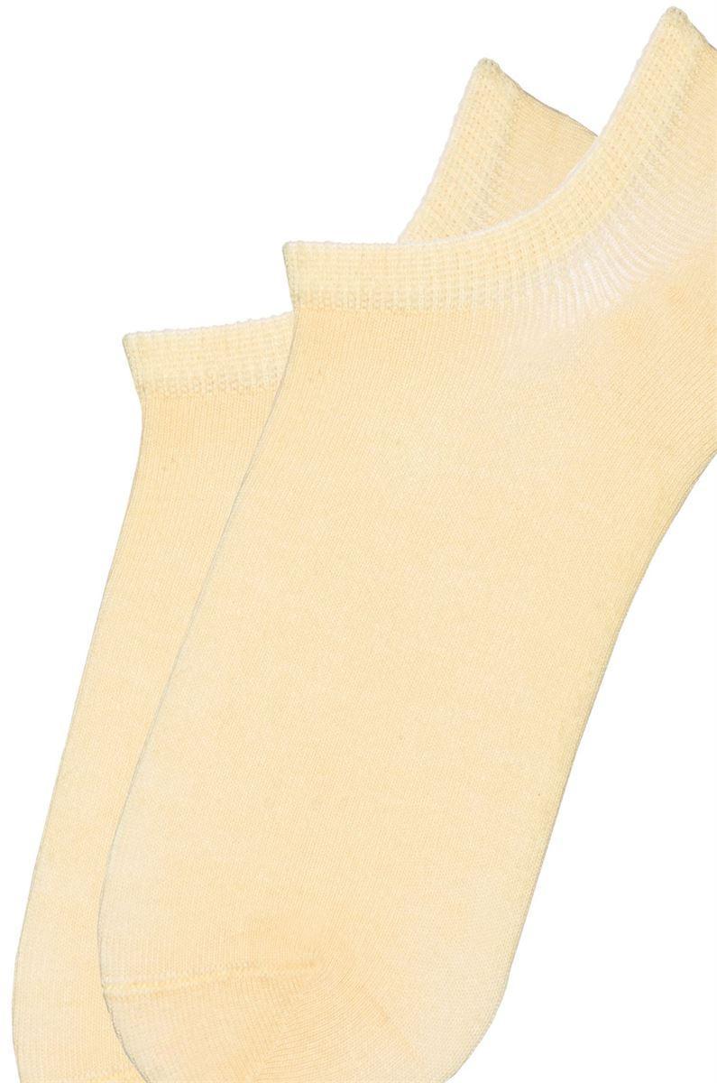 Носки женские короткие хлопковые Bross телесные