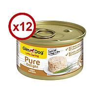 GimDog Little Darling Pure Delight консерви для собак (курка) 85г*12шт