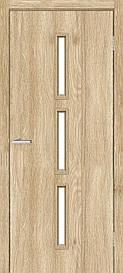 Двери межкомнатные ОМиС Техно T 03 стекло сатин