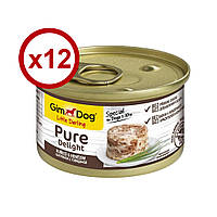 GimDog Little Darling Pure Delight  консерва для собак  (курица и говядина) 85г*12шт