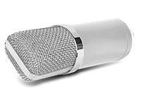 Конденсаторный микрофон ISK BM-800LT + студийный комплект (стойка тринога, попфильтр, звуковая карта, паук)