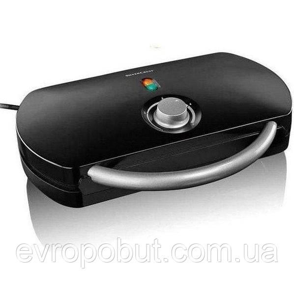 Двойная вафельница SilverCrest SDW 1200 C1, 1200 Вт Черный