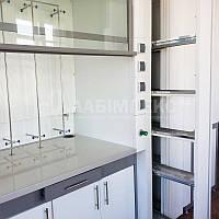 Шкаф вытяжной лабораторный ШВЛ-06 с боковой электропанелью