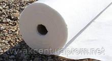 Геотекстиль голкопробивний 400 г/м2 поліефір рулон 2х50 м.
