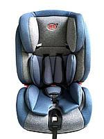 Детское автокресло с ISOFIX Gifted Baby HQ  Серо синий (группа 1-2-3; 9-36kg), фото 1
